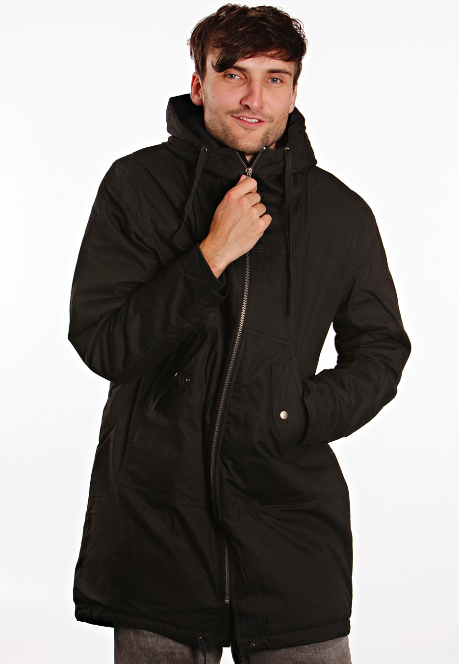 Cheap Monday - Nyder Charcoal - Parka - Impericon.com UK