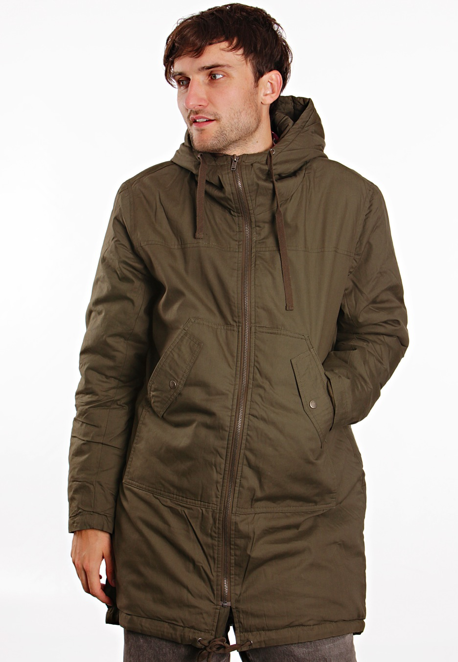 Cheap Monday - Nyder Dark Green - Parka - Impericon.com UK