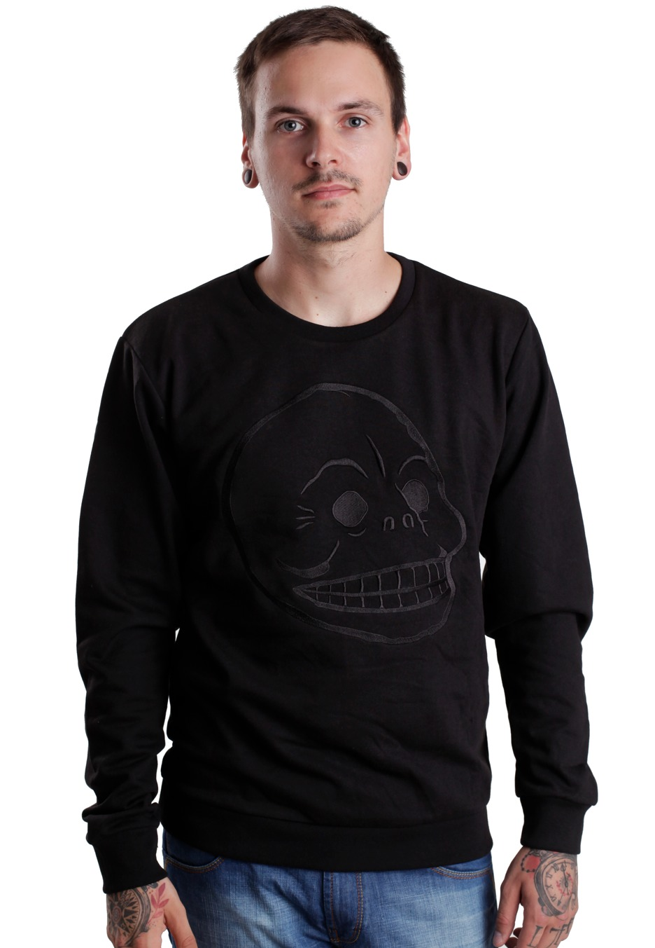Cheap Monday - Per Skull - Sweater - Impericon.com Worldwide