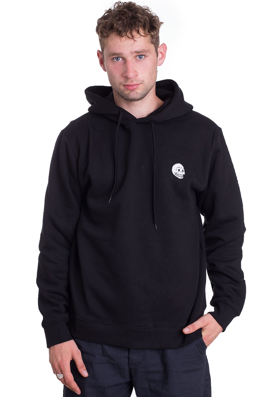 8b75a7aef Cheap Monday - Skull Badge Black - Hoodie - Impericon.com AU