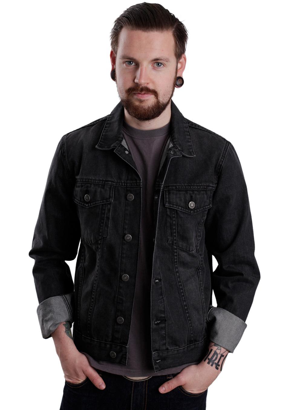 9a2b00deee90 Cheap Monday - Staple Black Heavy Stone - Jeans Jacket - Impericon.com  Worldwide