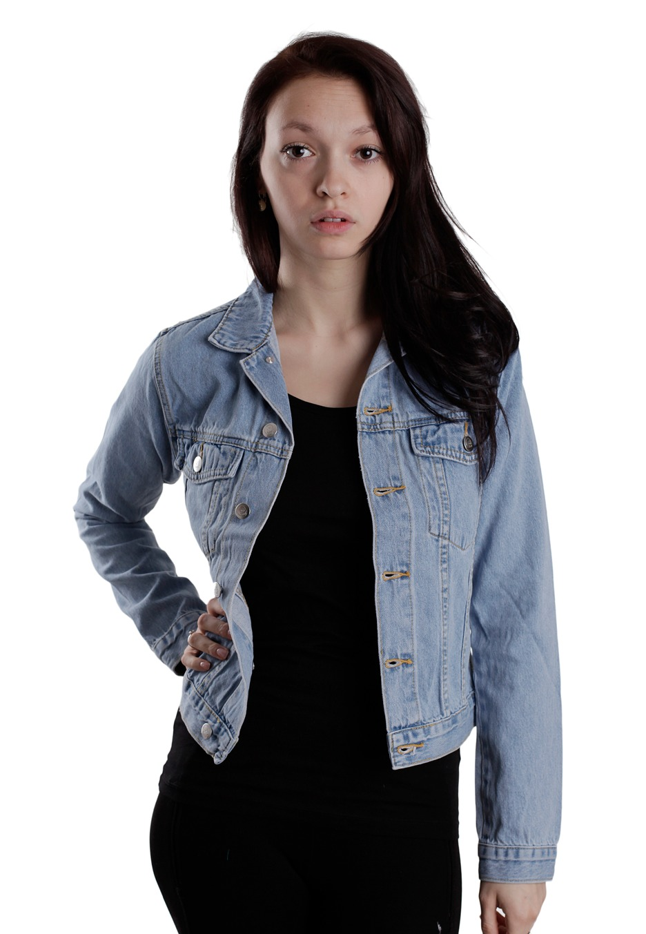 Cheap Monday - Tess Light Trash - Jeans Jacket - Impericon.com ...