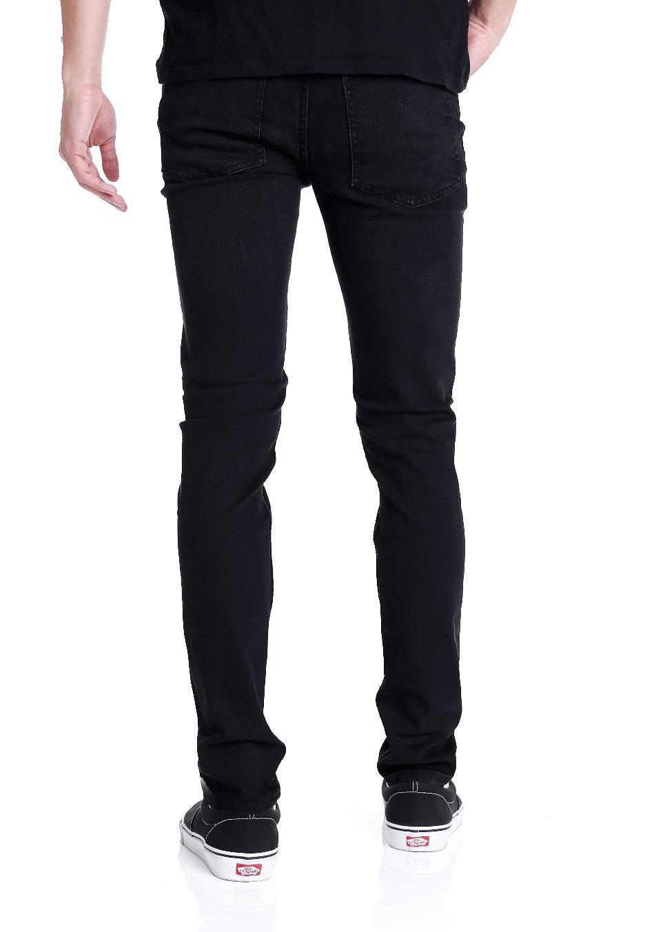 cheap monday tight black haze jeans nl. Black Bedroom Furniture Sets. Home Design Ideas