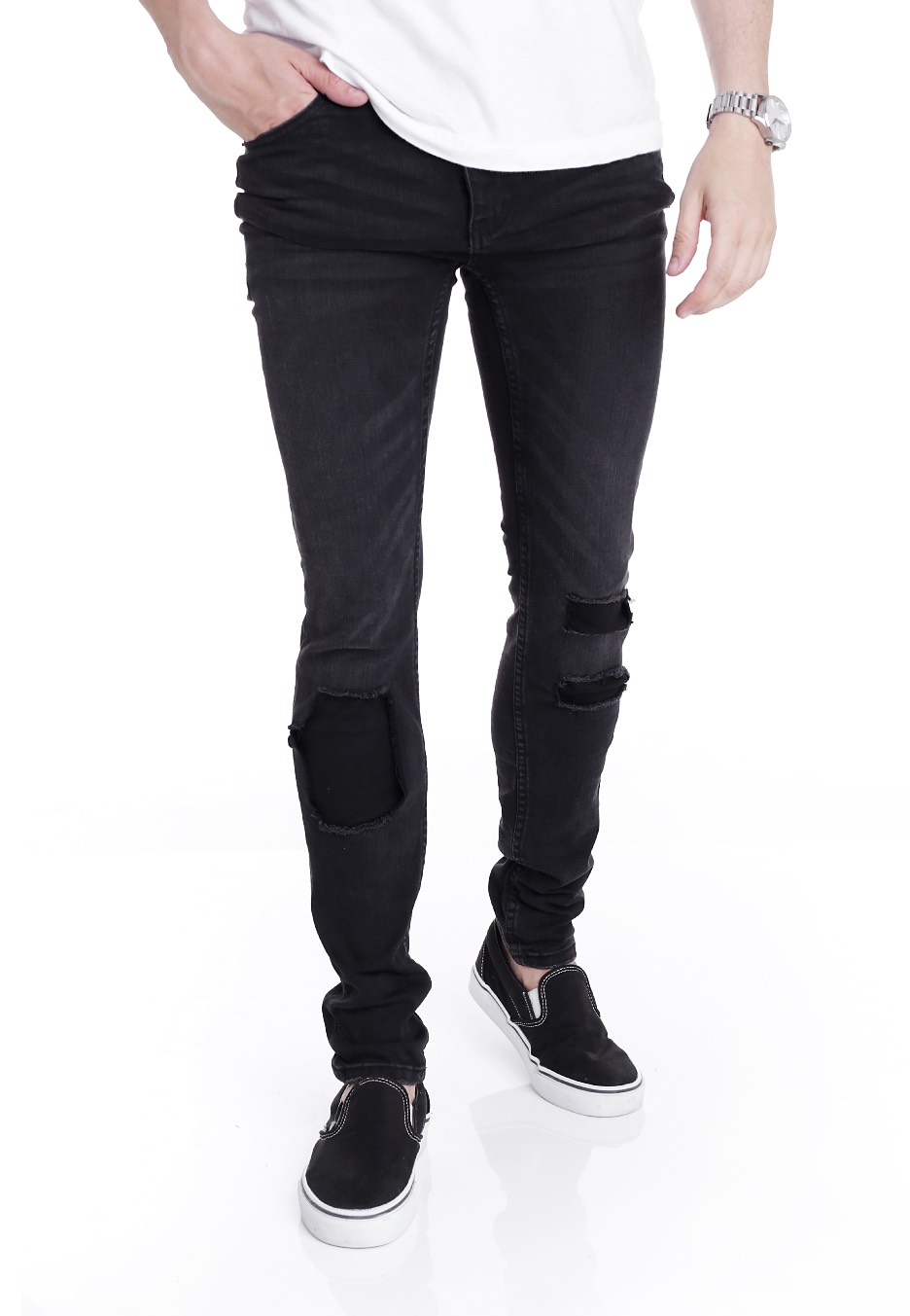 Cheap Monday - Tight Forever Black - Jeans - Impericon.com Worldwide