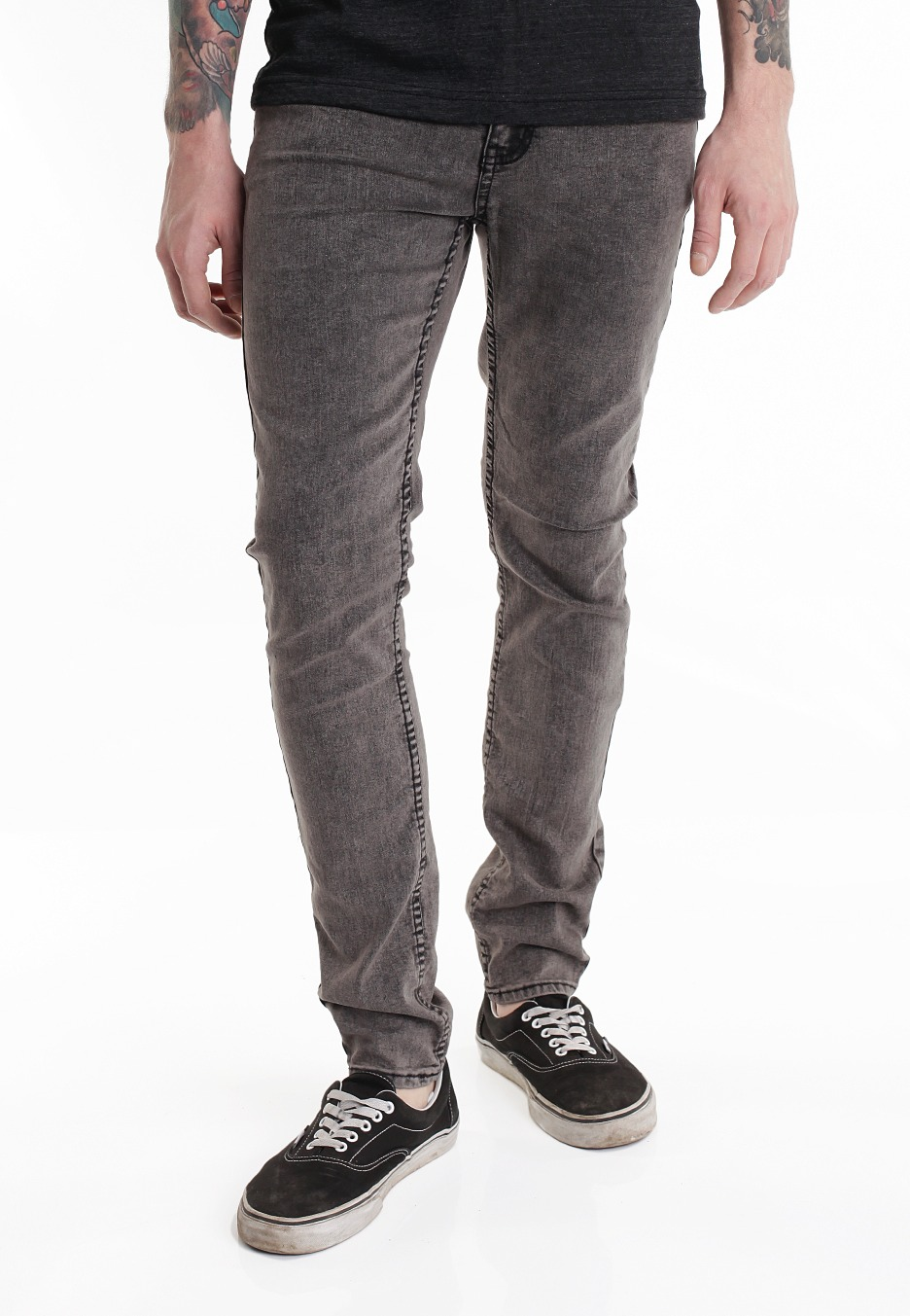Cheap Monday - Tight Grey Black - Jeans - Impericon.com UK