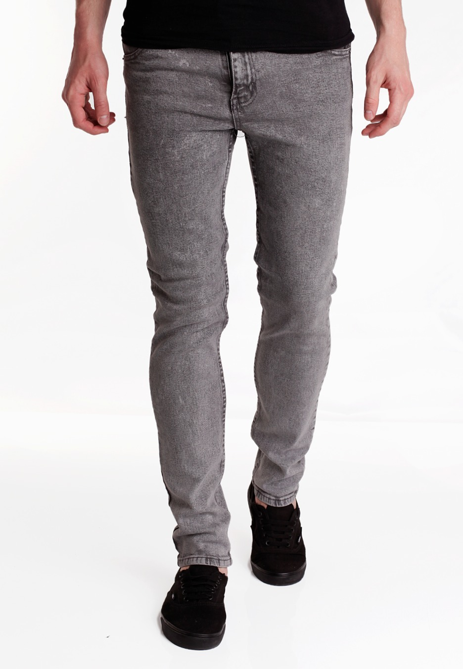 Cheap Monday - Tight Punk Grey - Jeans - Impericon.com UK