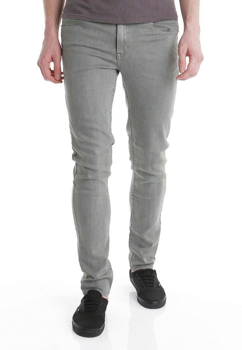 cheap monday  tight slate grey  jeans  impericon uk