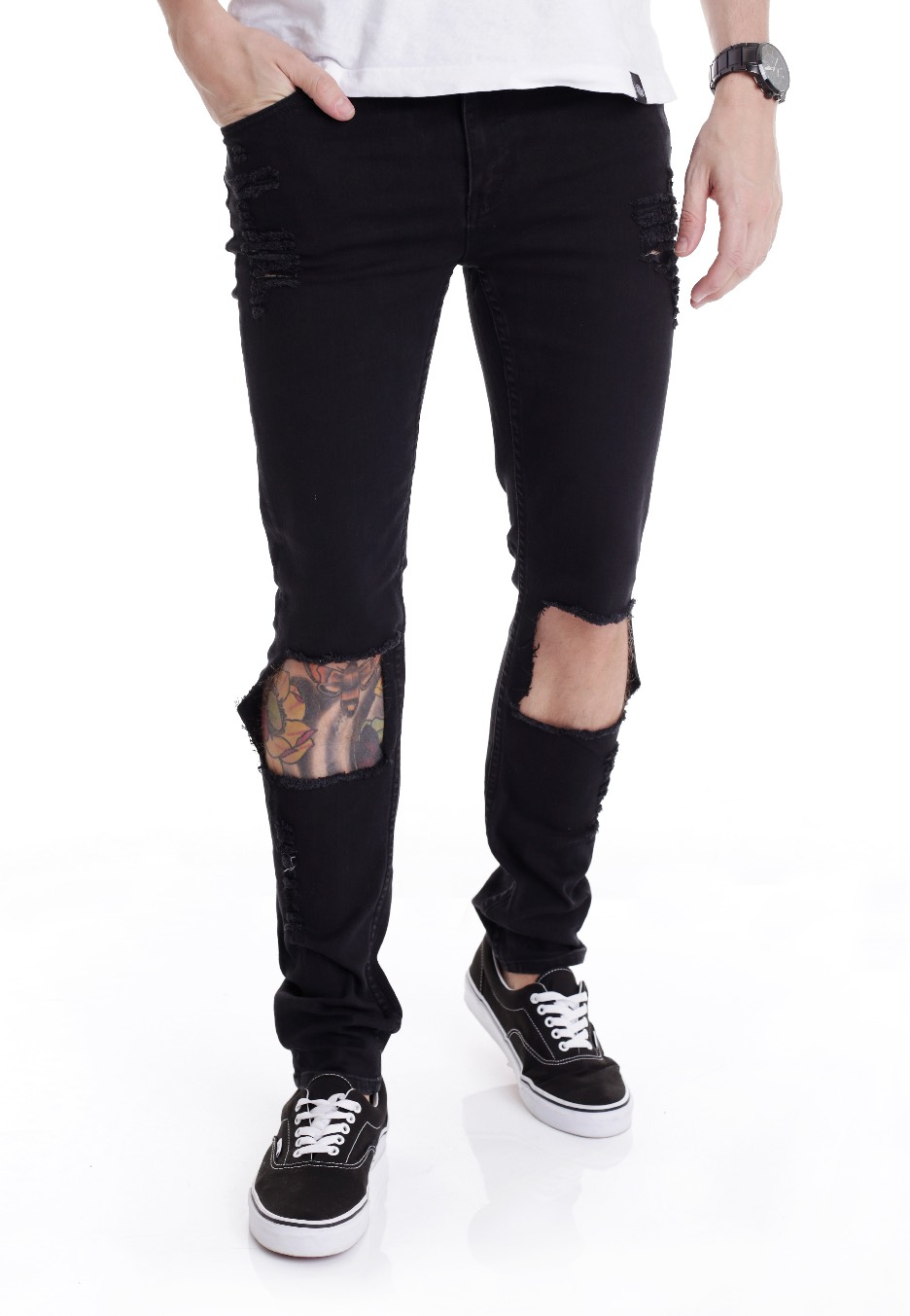 Cheap Monday - Tight Destroy - Jeans - Impericon.com Worldwide