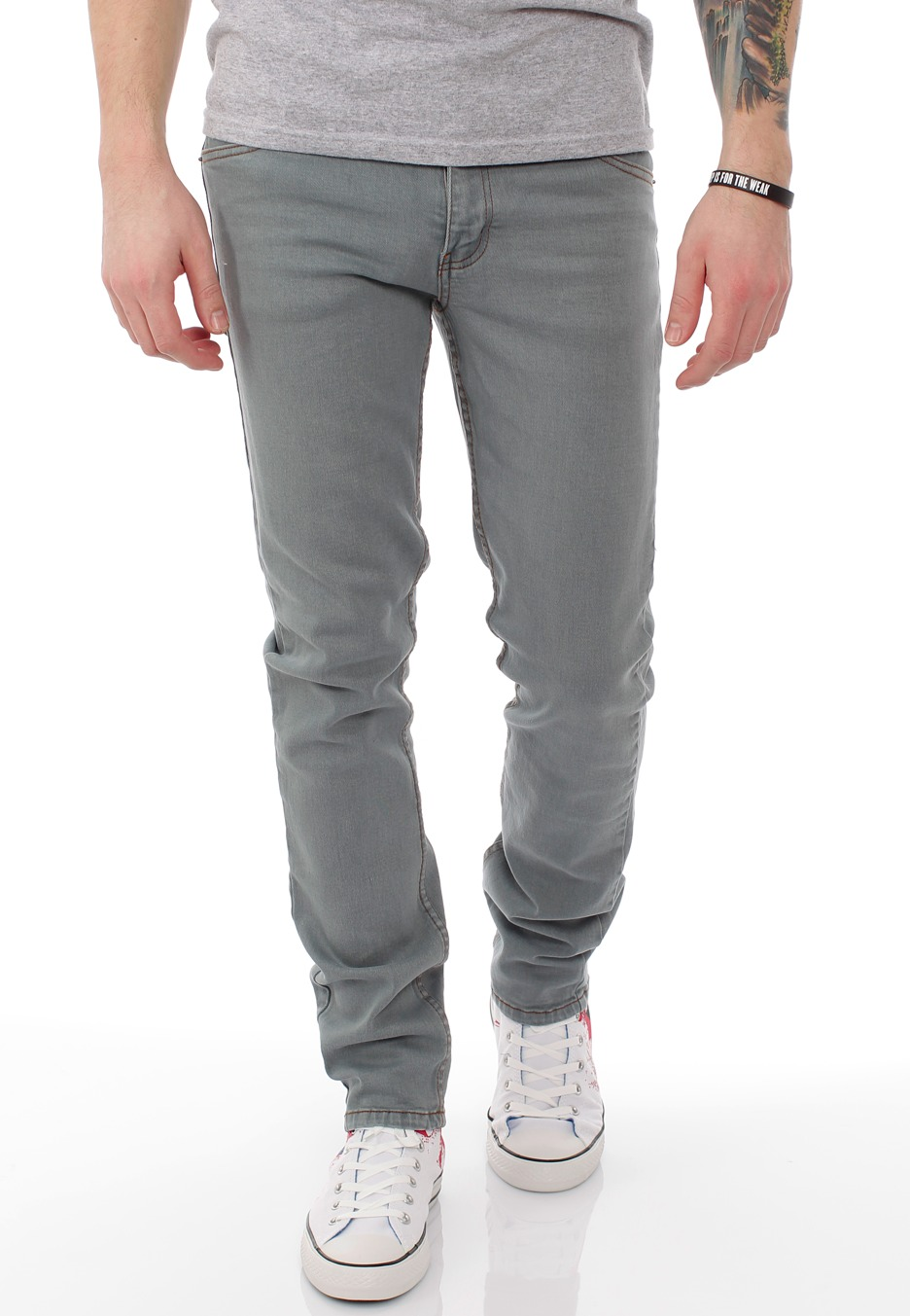 Cheap Monday - Tight Tint On Light Blue - Jeans - Impericon.com UK