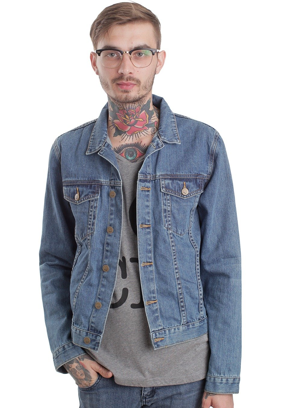 Cheap Monday - Tobias Folk Blue - Jeans Jacket - Impericon.com ...