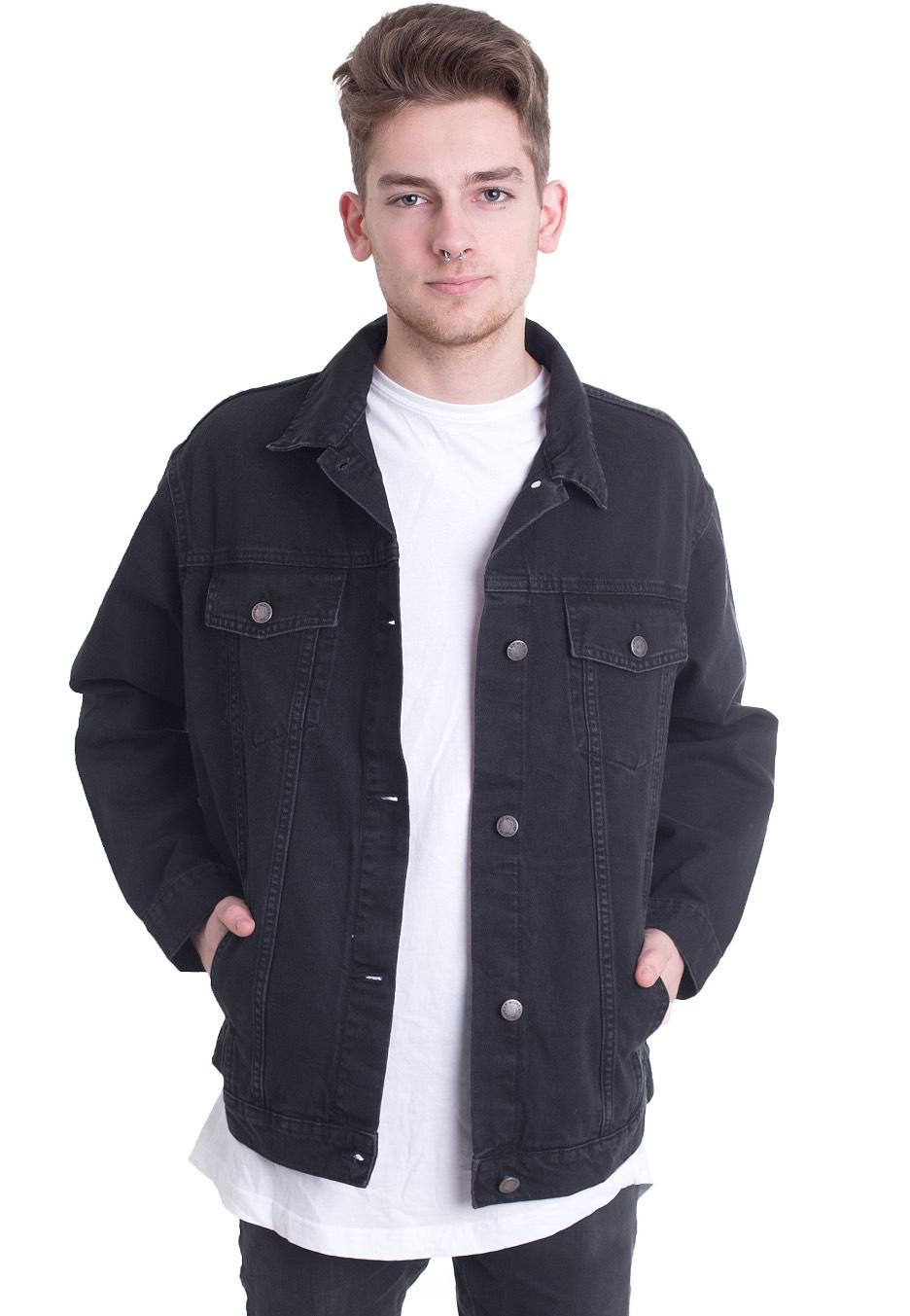 b19020af524c Cheap Monday - Upsize Dust Black - Jeans Jacket - Impericon.com US