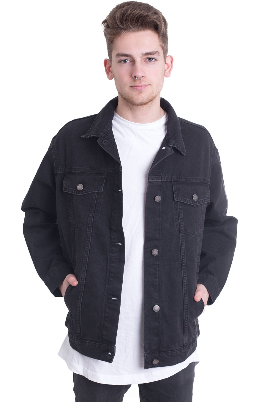 Cheap Monday - Upsize Dust Black - Jeans Jacket