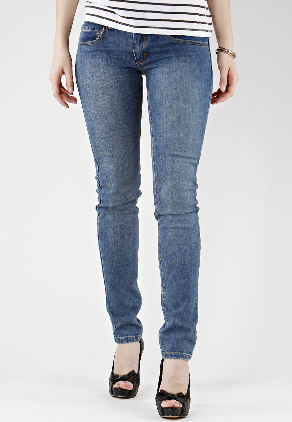 Cheap Monday - Zip Low USA Blue - Jeans - Impericon.com Worldwide