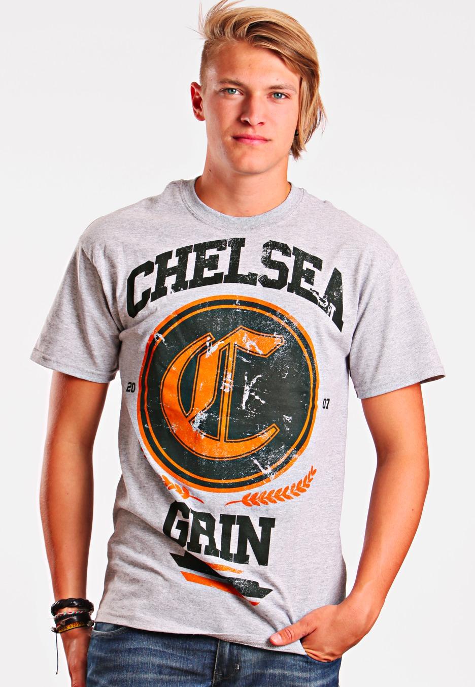 chelsea grin college sportsgrey t shirt official metalcore merchandise shop impericon. Black Bedroom Furniture Sets. Home Design Ideas