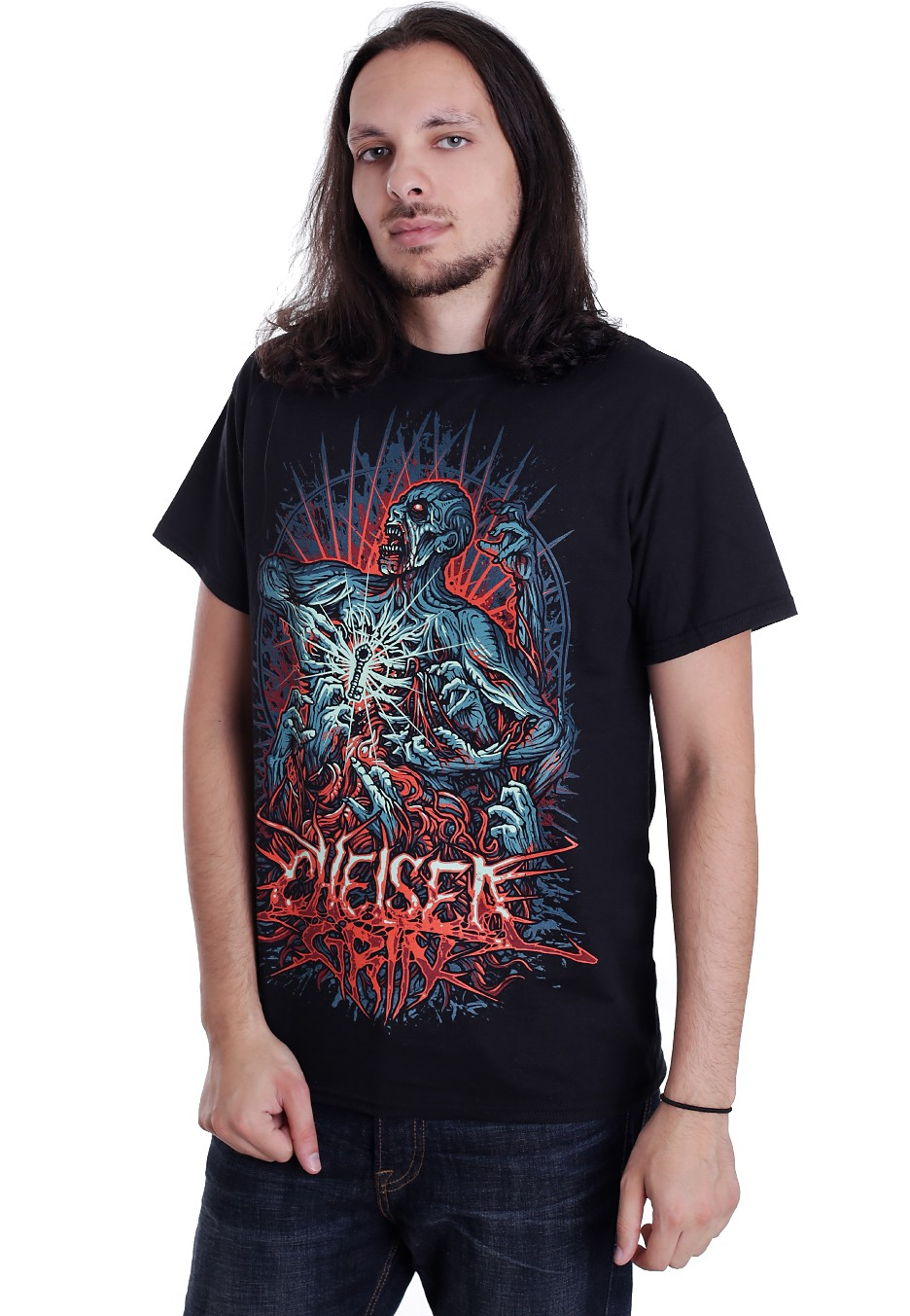 chelsea grin demon t shirt official deathcore merchandise shop worldwide. Black Bedroom Furniture Sets. Home Design Ideas