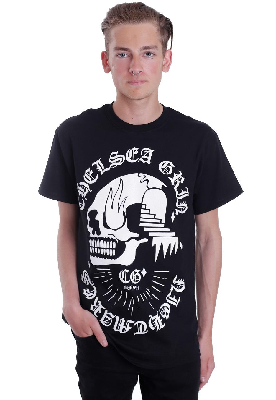 chelsea grin nightmares t shirt official deathcore merchandise shop worldwide. Black Bedroom Furniture Sets. Home Design Ideas