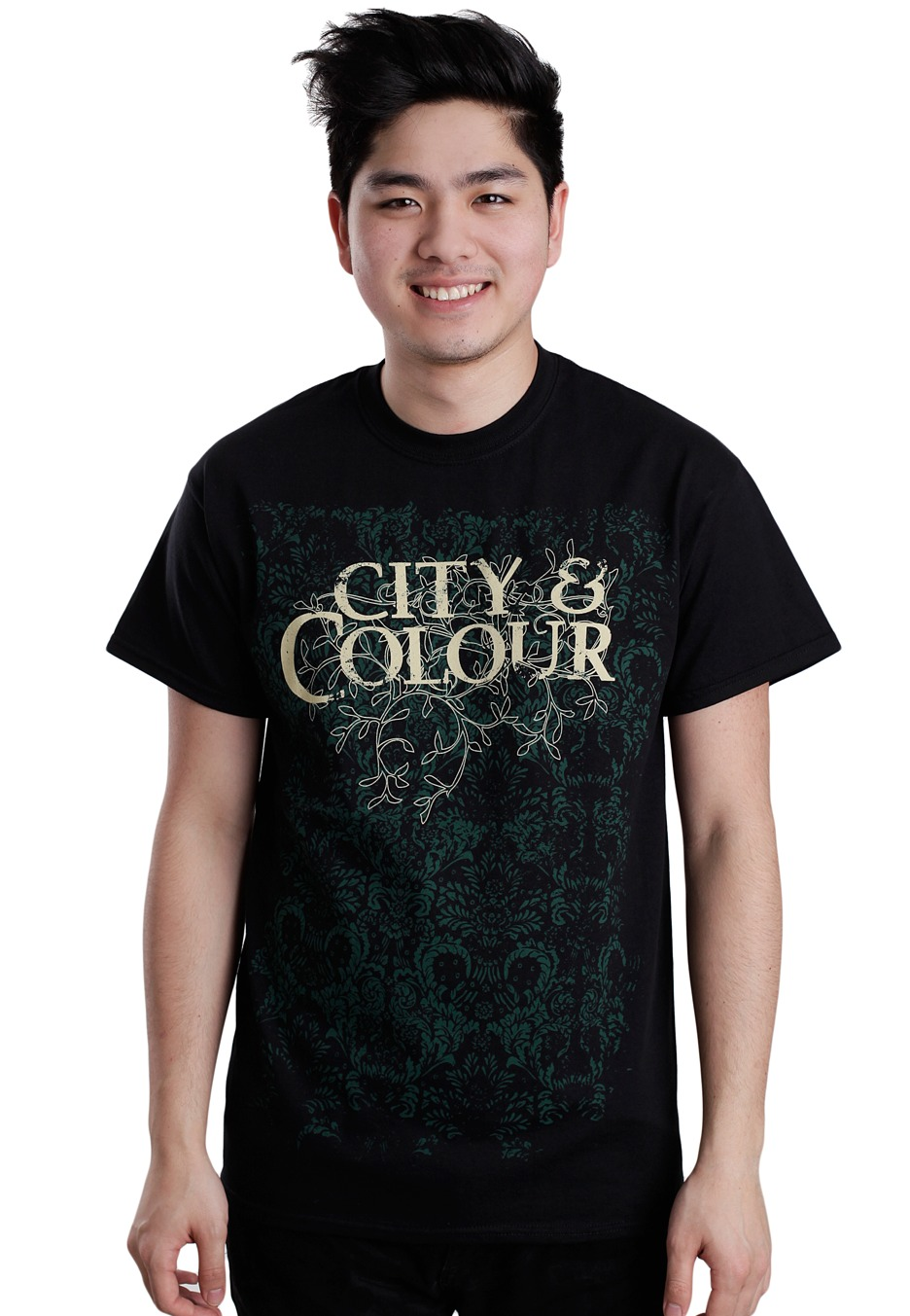Buy City And Colour Men's Crest T-shirt Heather at bloggeri.tk