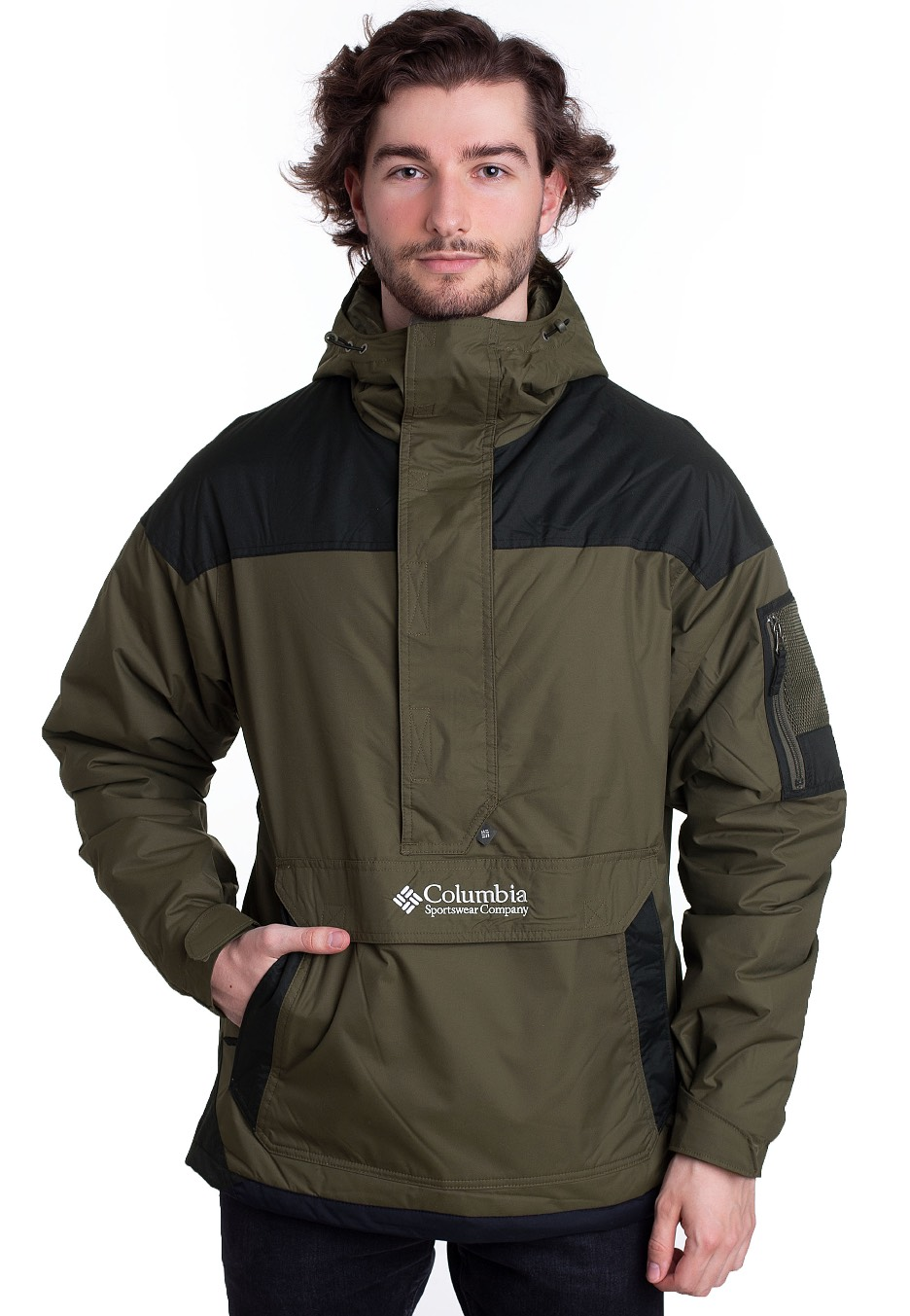 Columbia Challenger PeatmossBlack Jacket