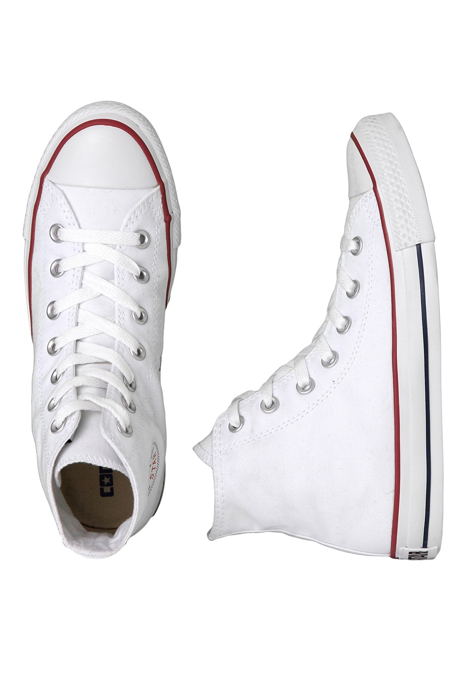 0822948672a4 Converse - Chuck Taylor All Star Hi Optical White - Girl Shoes -  Impericon.com UK