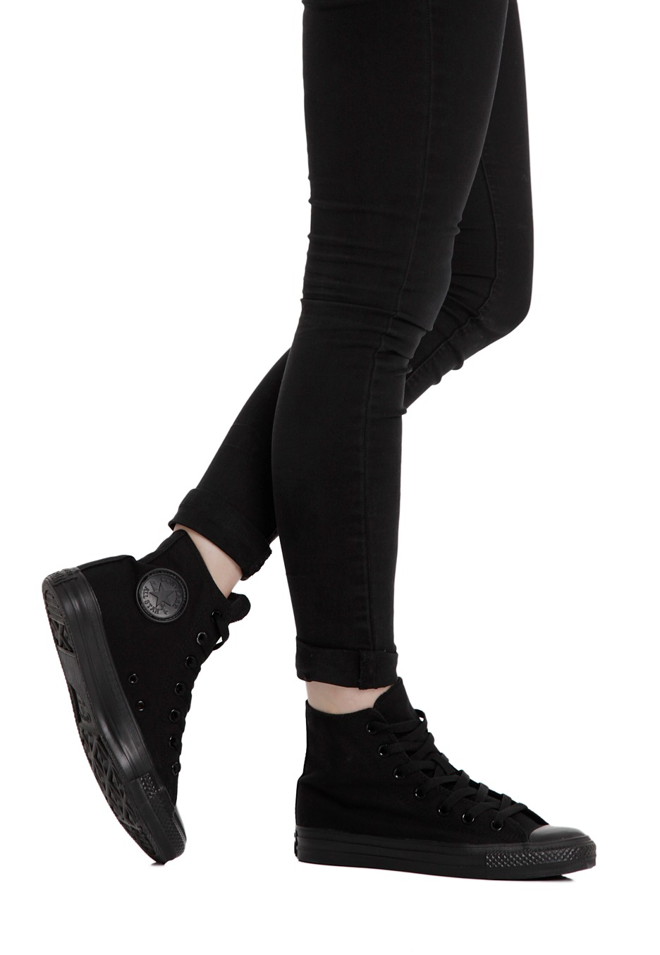 All Star Shoes For Girls Black