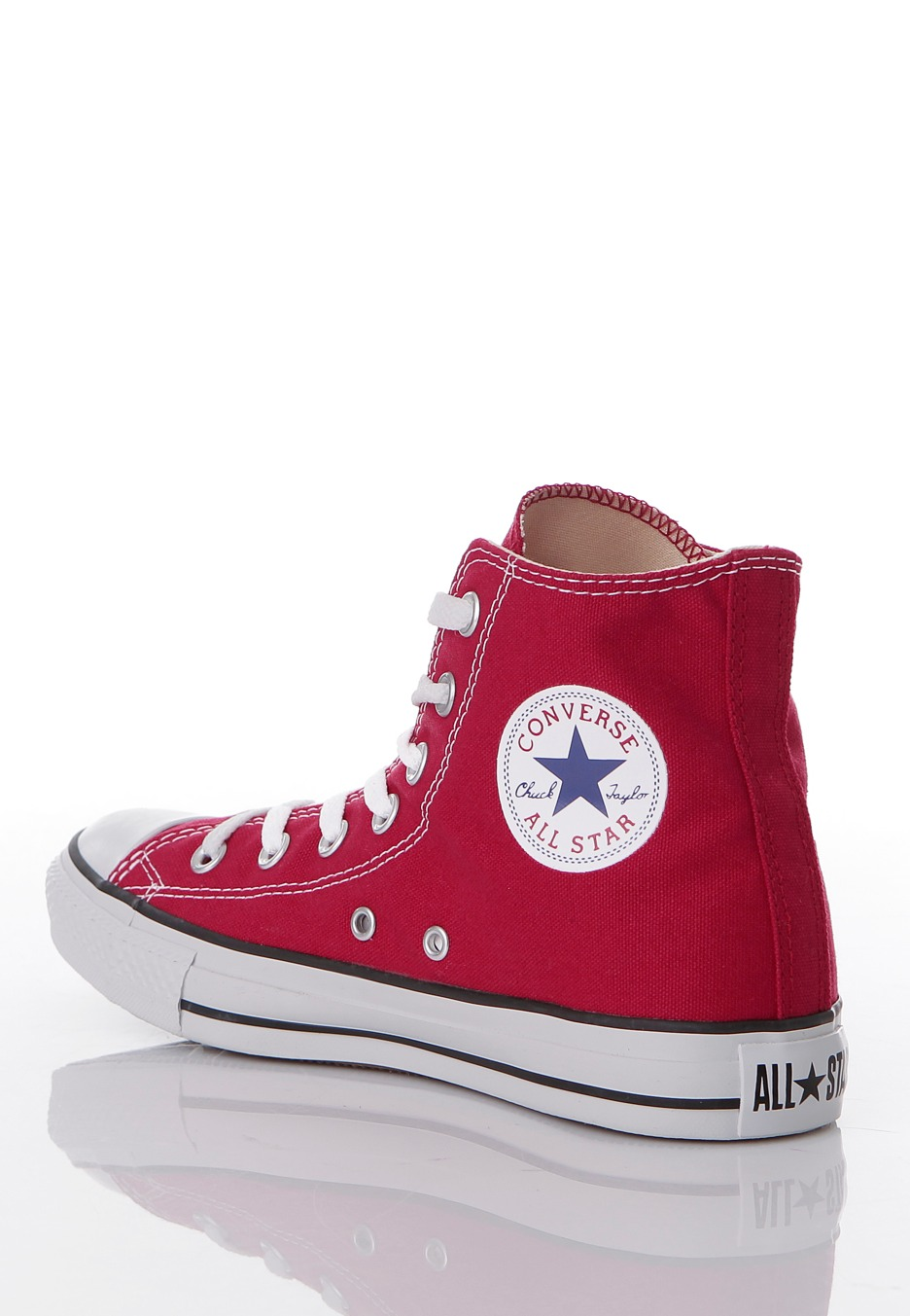 Converse - Chuck Taylor All Star HI Red - Girl Shoes ...