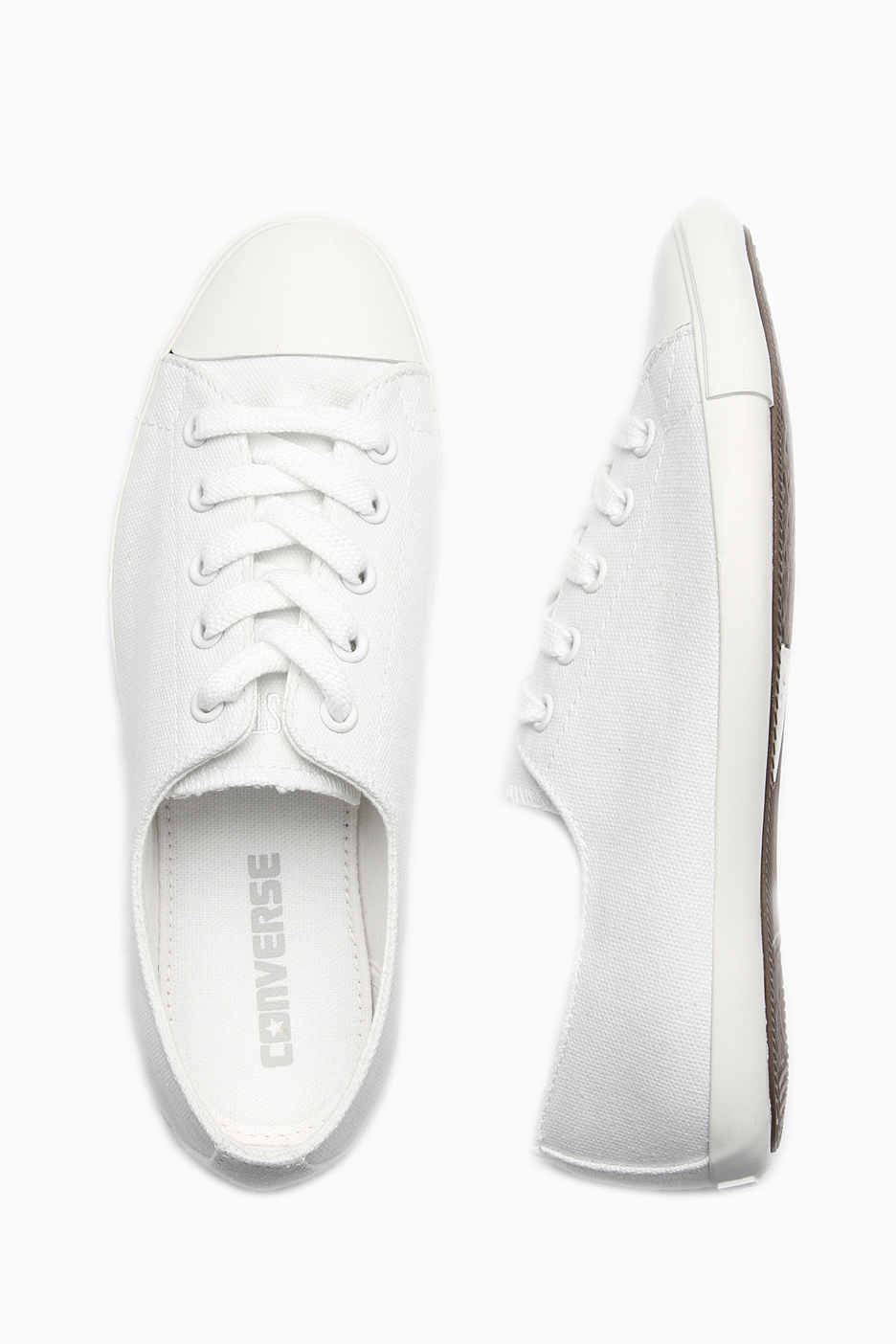 7f848d2b083 Converse - All Star Light OX White - Girl Shoes - Impericon.com US