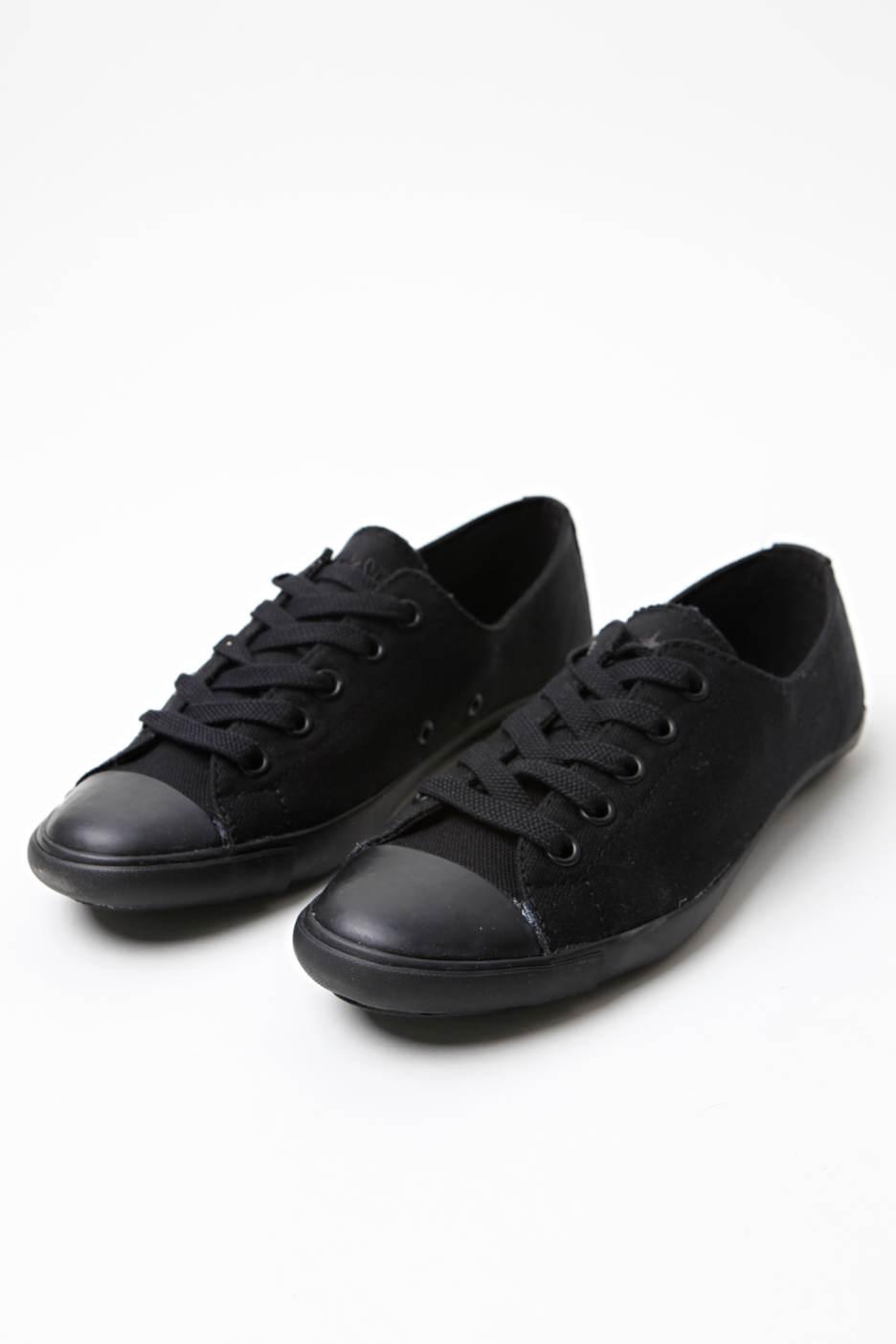 Converse - AS Light OX Black Black - Girl Shoes ...