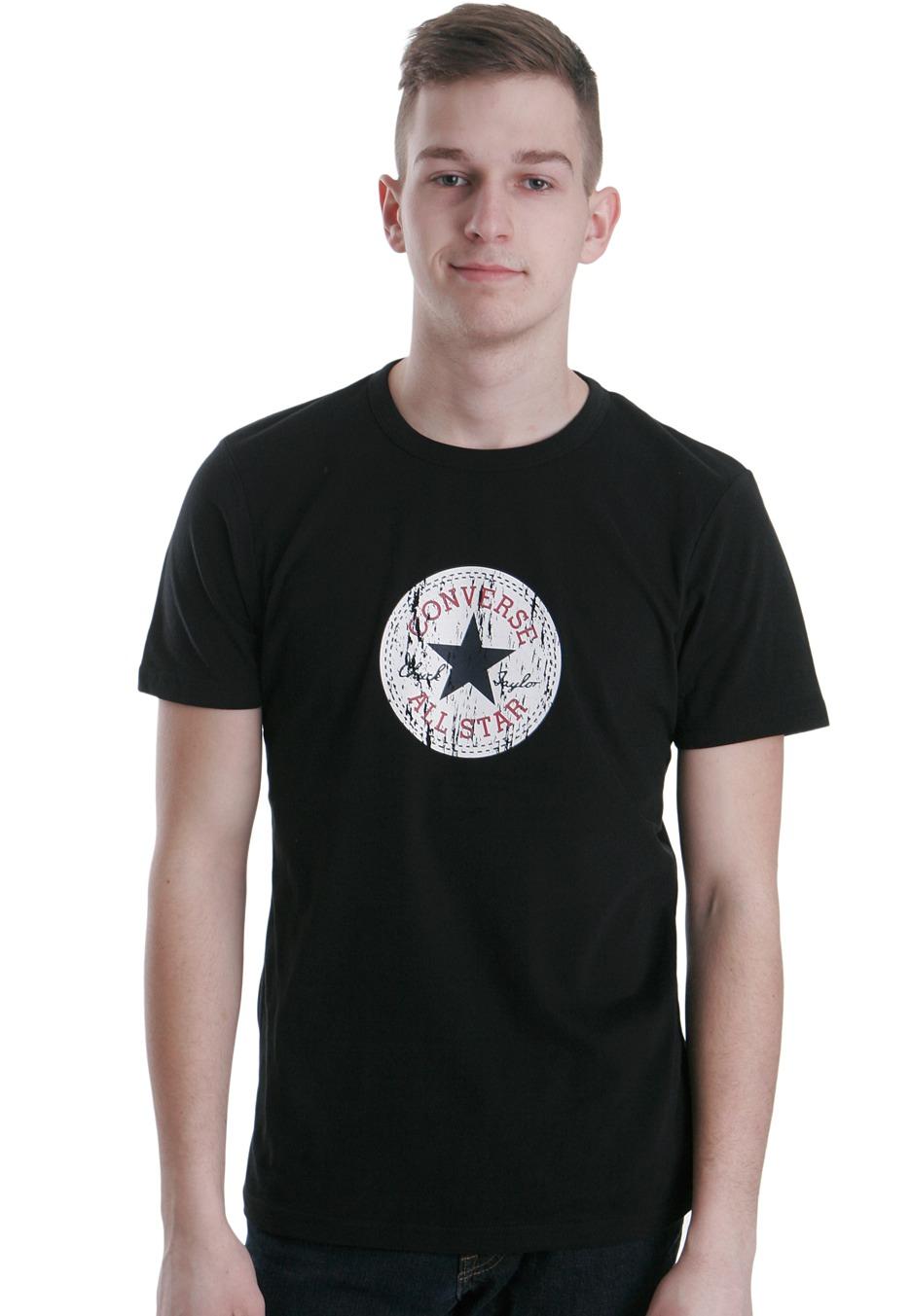 black converse shirt
