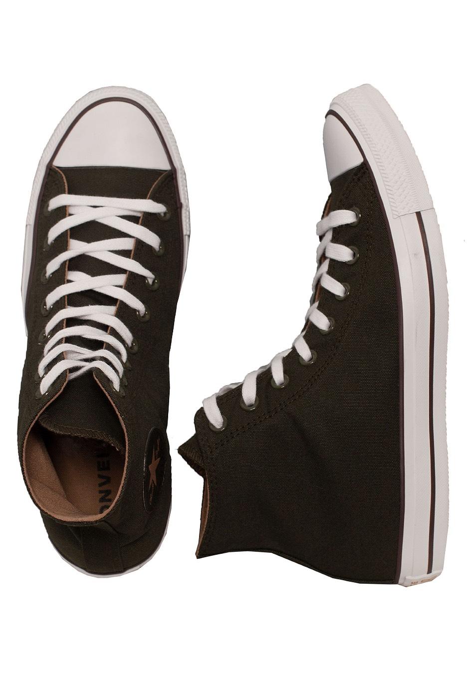725c6d8e2cbfa8 Converse - Chuck Taylor All Star Hi Utility Green Teak White - Shoes -  Impericon.com UK