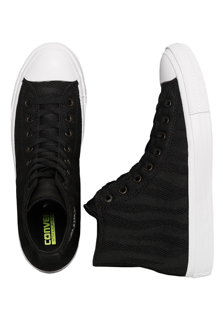 Converse - Chuck Taylor All Star II Hi Black White Gum - Shoes -  Impericon.com UK c1afc19526