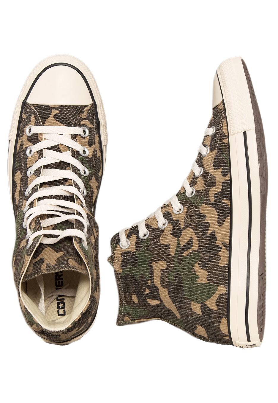 1e7794a76bec Converse - Chuck Taylor All Star Hi Fatigue Green Natural Green - Shoes -  Impericon.com US