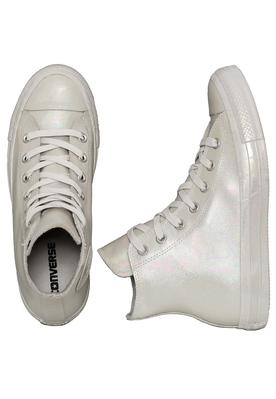Converse - Chuck Taylor All Star Hi Rubber Oil Slick Mouse Mouse Mouse -  Girl Shoes - Impericon.com UK 2dc550639