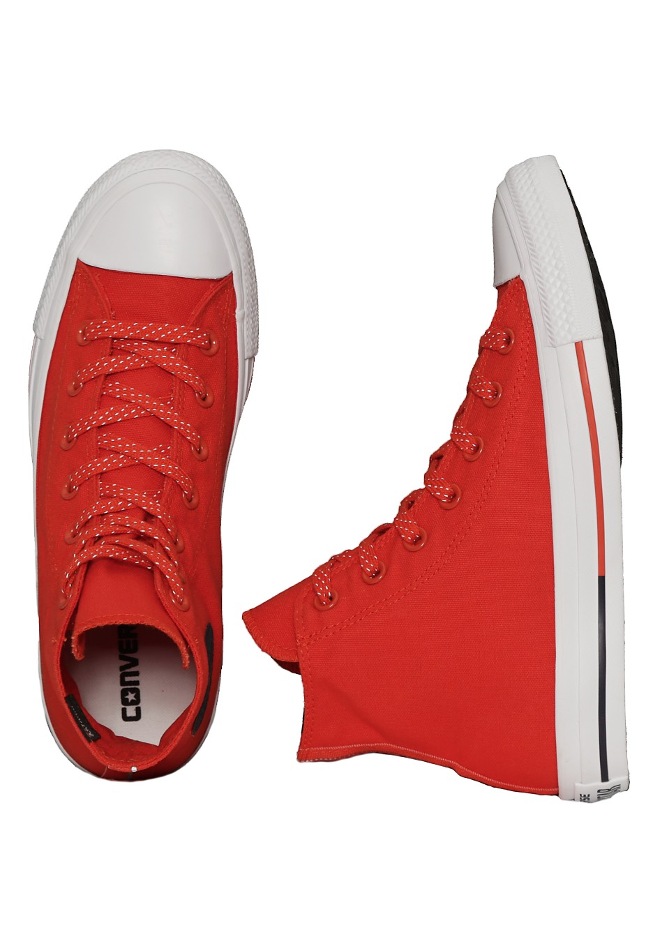 c5e13811c32c Converse - Chuck Taylor All Star Hi Signal Red White Obsidian - Girl Shoes  - Impericon.com UK