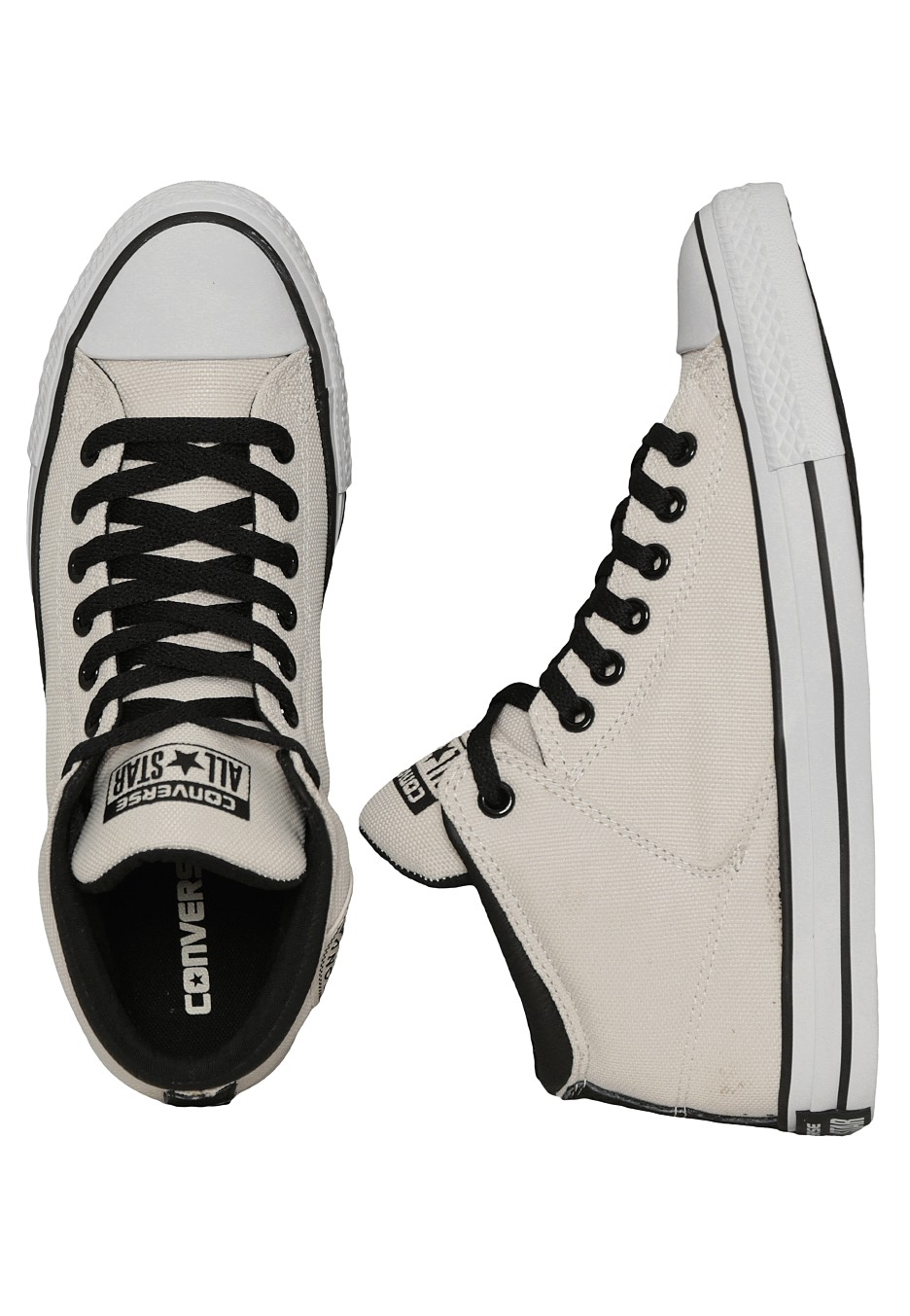 d3d31852184 Converse - Chuck Taylor All Star High Street Hi Parchment Black White -  Shoes - Impericon.com Worldwide