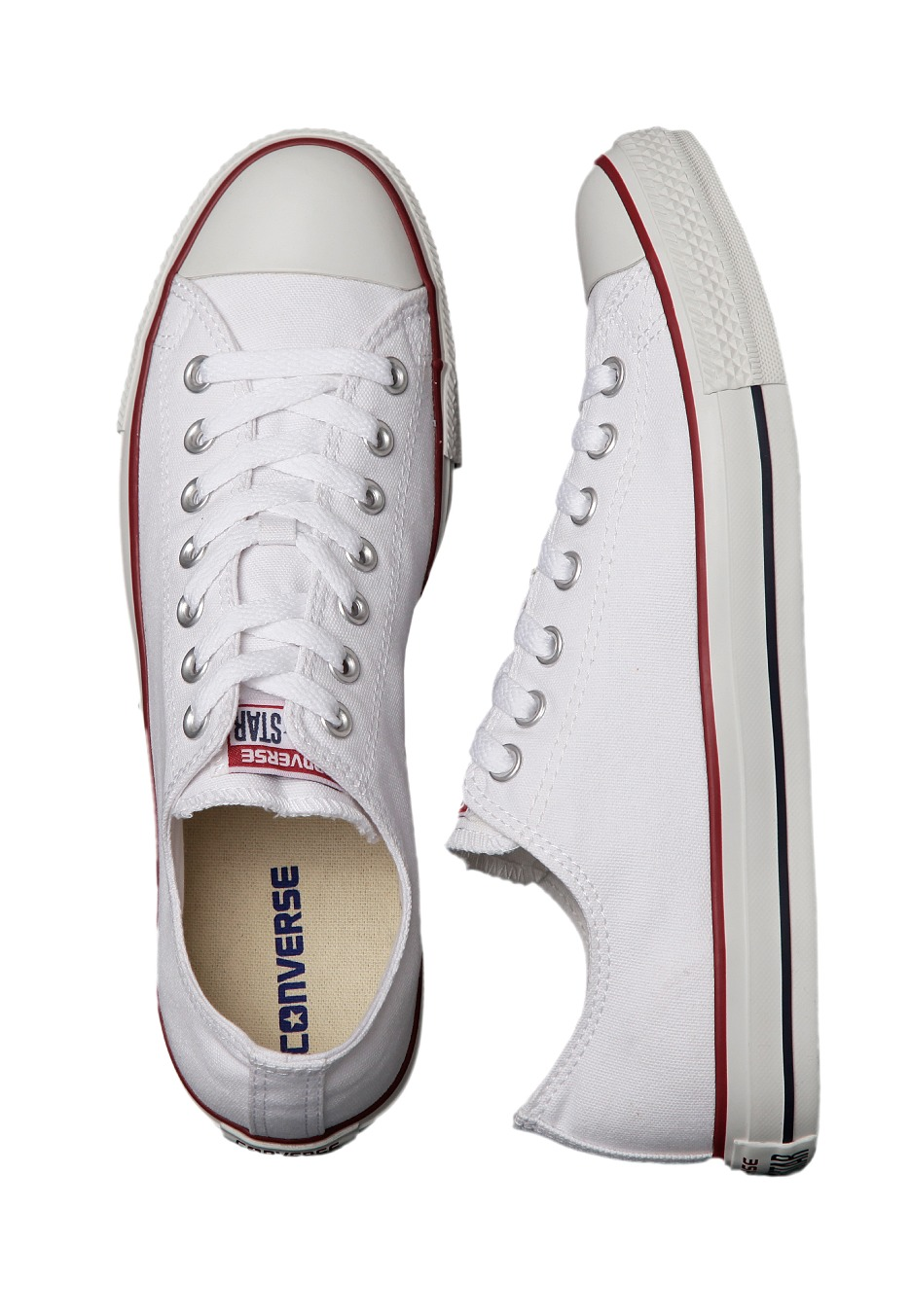 Converse - Chuck Taylor All Star Ox Optical White - Girl Shoes -  Impericon.com US 5038b52ec