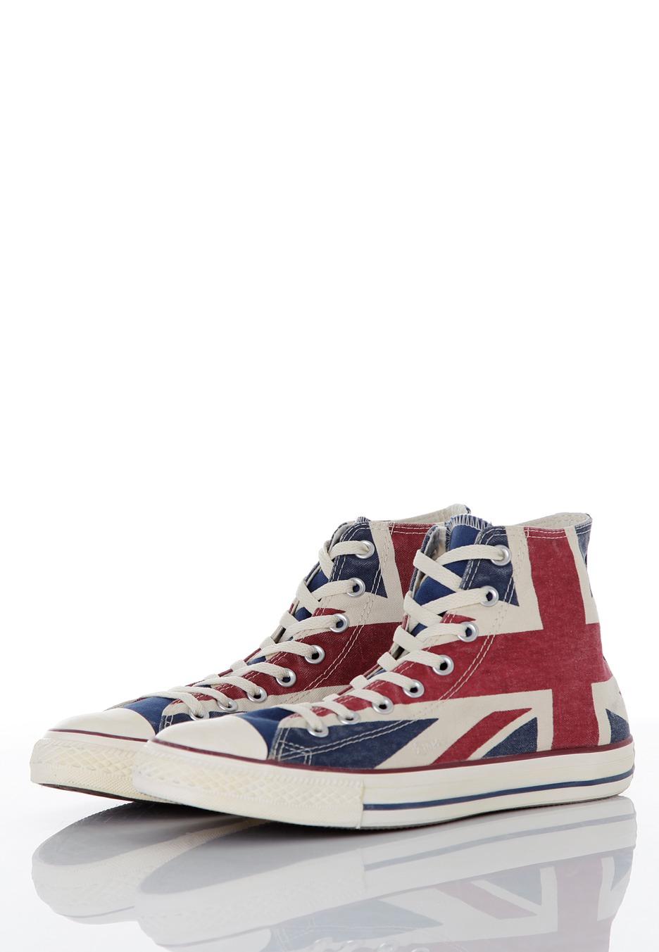 065d8f7fbafc ... Converse - CT All Star Union Jack Hi UK Flag Distressed - Shoes ...