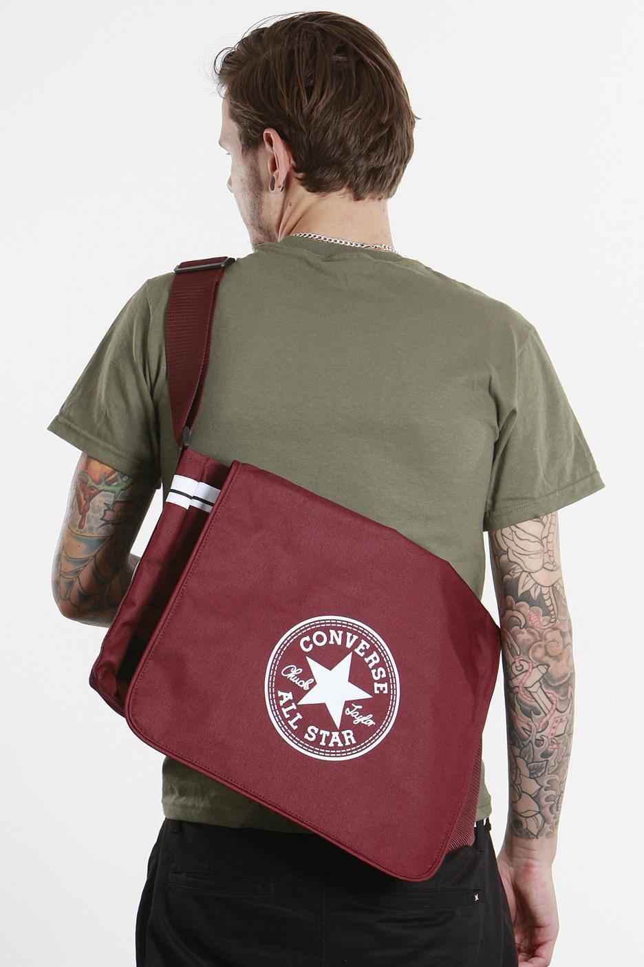 Converse - CT Shoulder Flap Port Royale - Bag - Impericon.com UK 3bcf4280ed