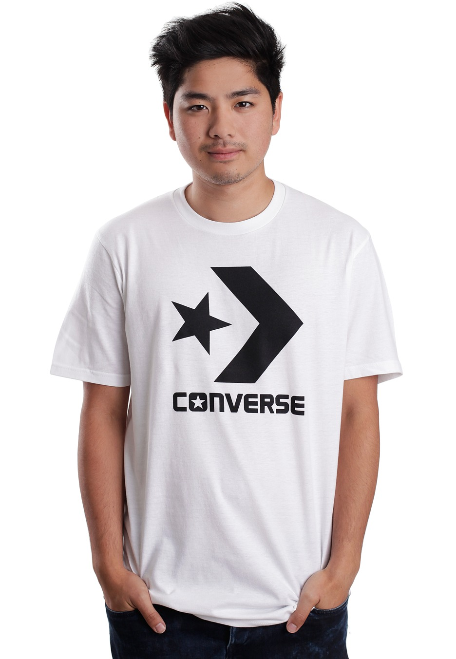 8936dc384390 Converse - Cons Str Chevron Optic White - T-Shirt - Impericon.com UK