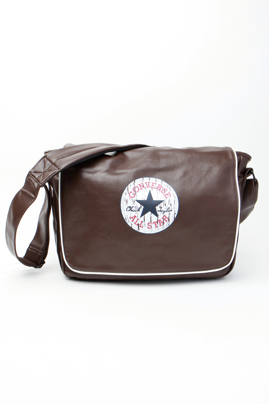 f3c04441261b Converse - Vintage Patch Shoulder Chocolate Brown - Bag - Impericon.com  Worldwide