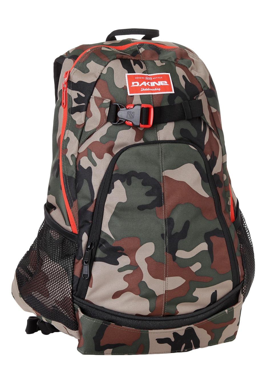Dakine - Pivot Camo - Backpack - Impericon.com Worldwide