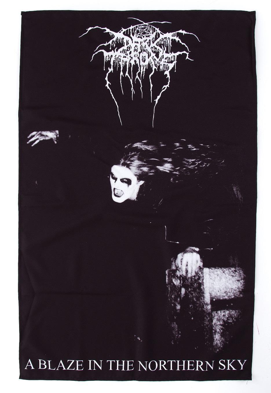 Darkthrone - A Blaze In The Northern Sky - Flag