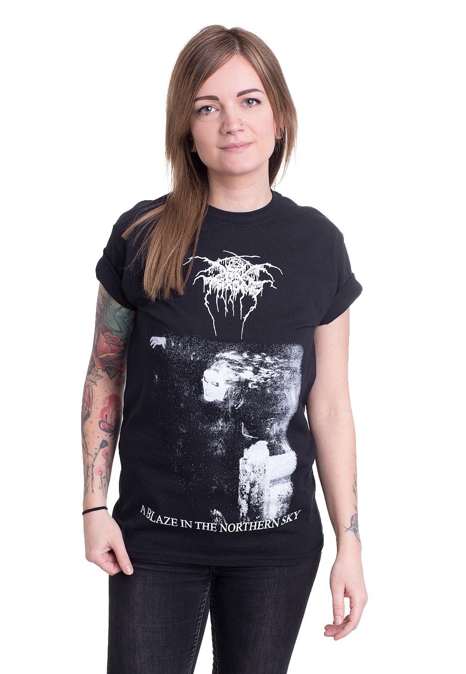 darkthrone a blaze in the northern sky tshirt