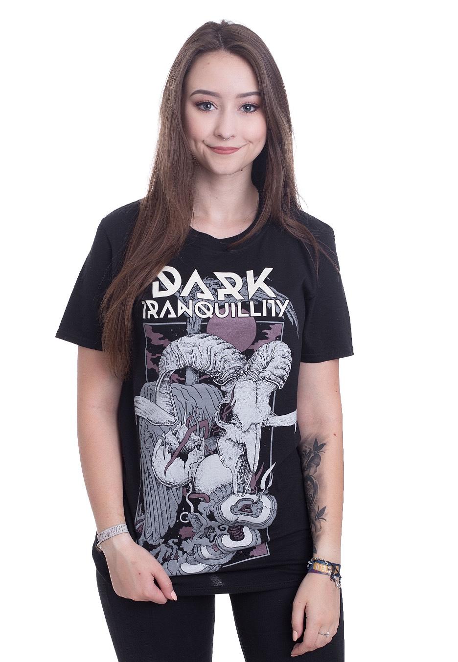 Skull Metal Dark Official Tranquillity Shirt Death T H9ID2E
