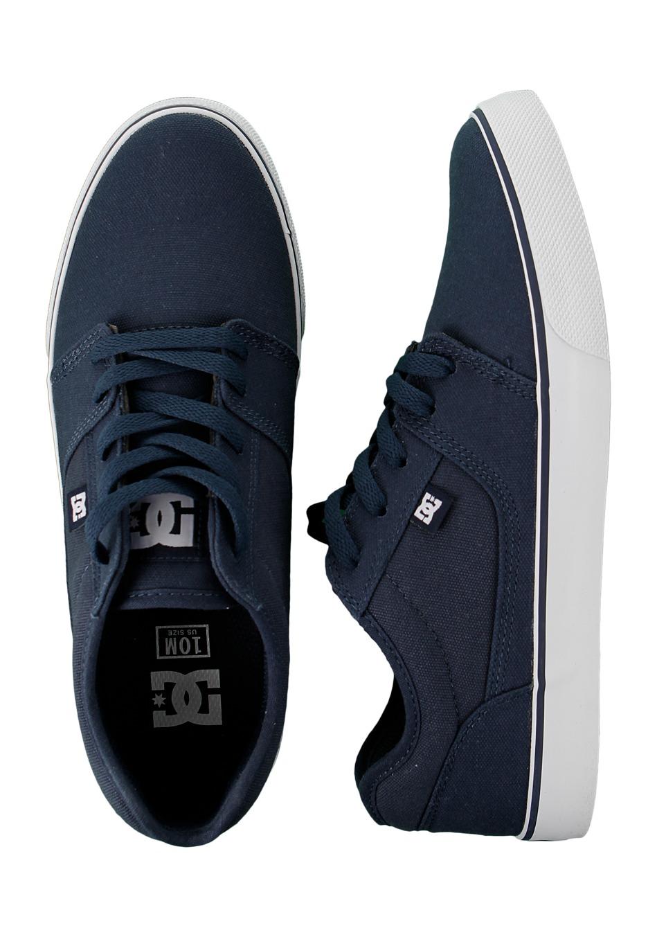 503aeda6945de DC - Tonik TX DC Navy White - Shoes - Impericon.com UK