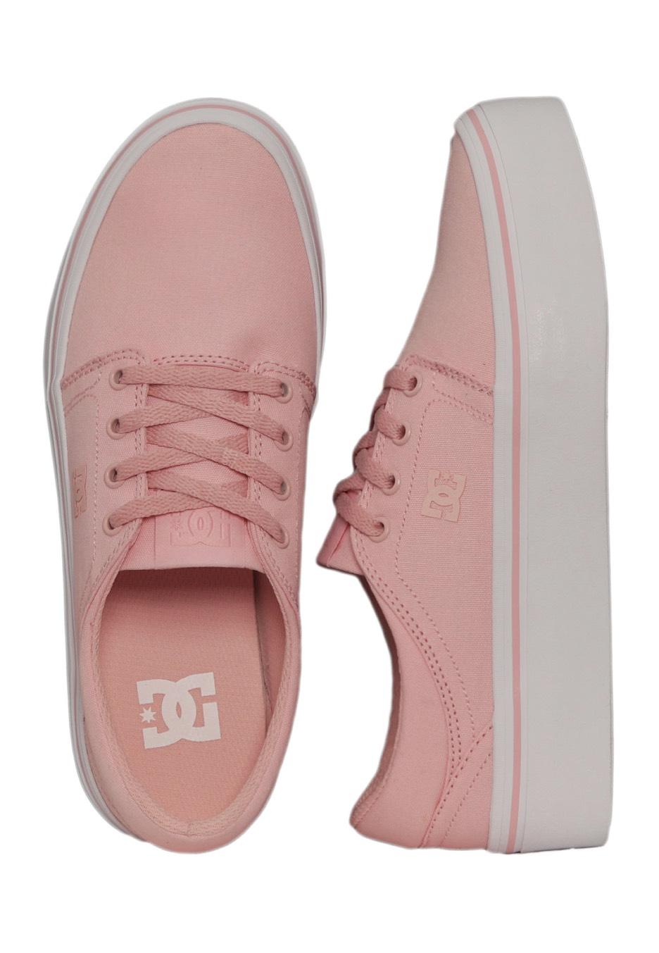 DC Trase Platform TX Rose Girl Schuhe