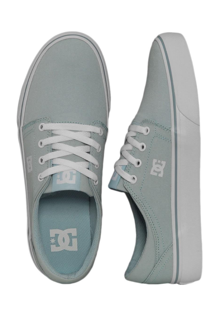DC - Trase TX Light Blue - Girl Shoes
