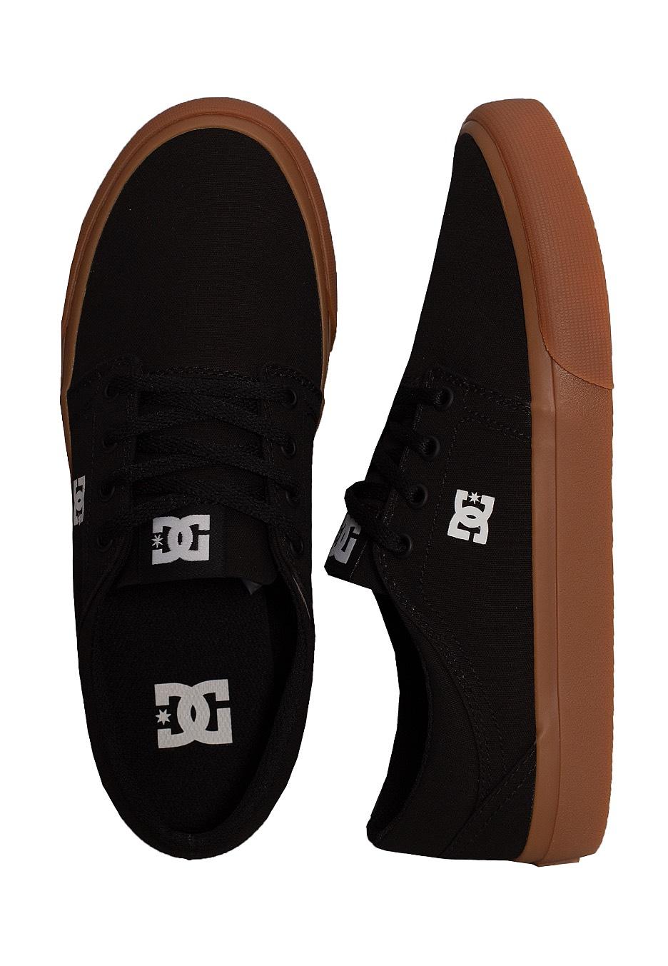DC - Trase TX Black/Gum - Girl Shoes