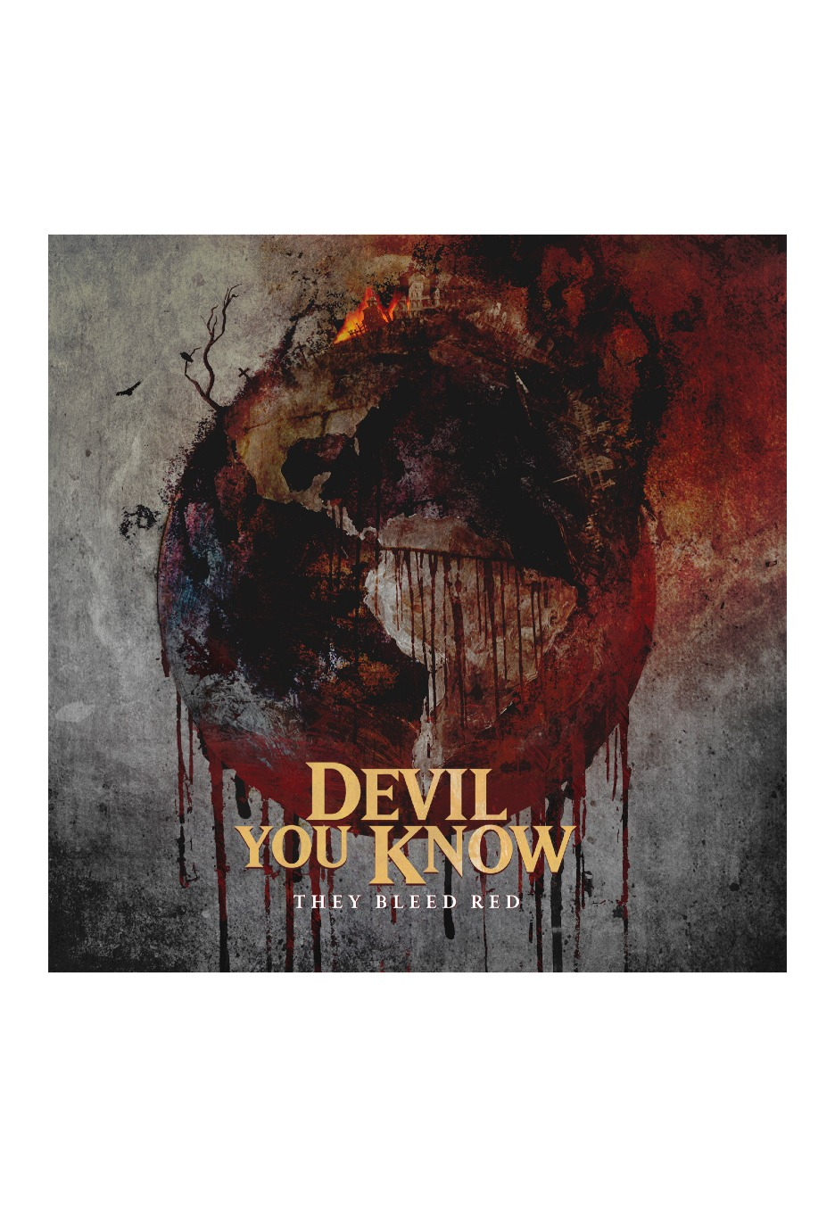 Devil You Know - They Bleed Red - CD