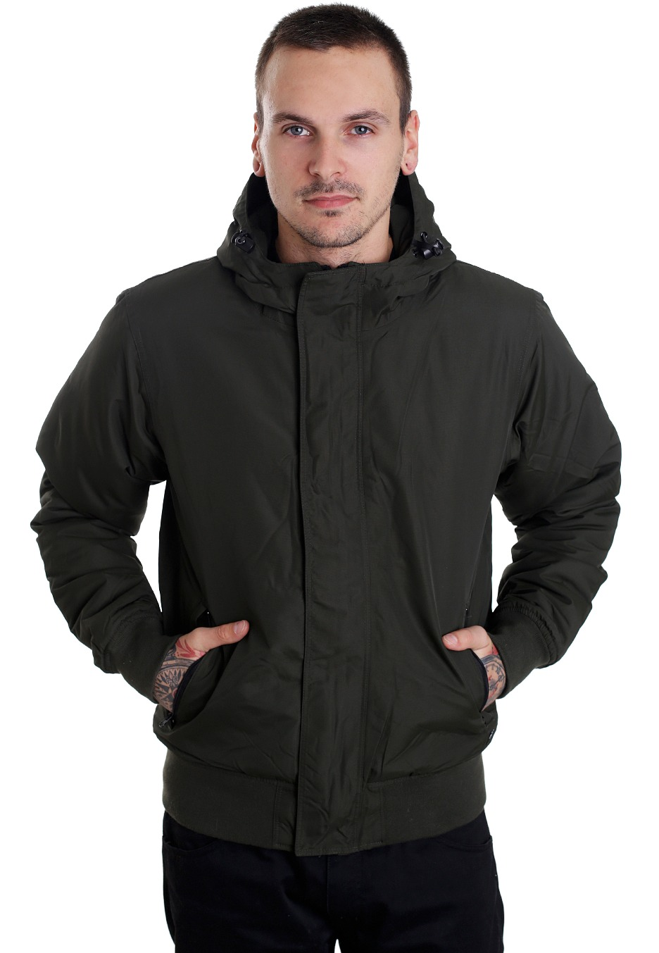 Dickies - Cornwell Olive Green - Jas - Impericon.com NL