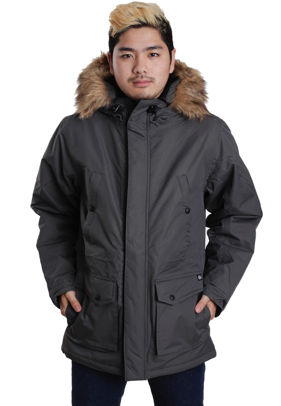 981b821bc88dc Dickies - Curtis Charcoal Grey - Jacket - Impericon.com Worldwide
